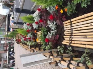 秋の花風船の会