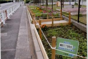 細田三丁目せせらぎ公園花壇