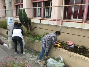 第一回花壇整備