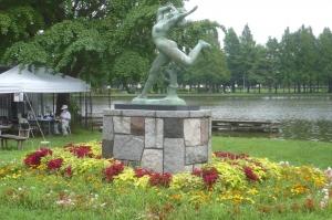 水元公園に踊る